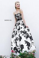 Sherri Hill 11083 Floral Evening Dress image