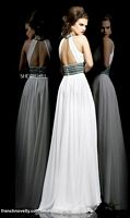 Sherri Hill 11086 Choker Collar Keyhole Long Dress image