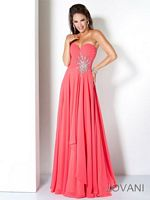 Jovani Formal Jeweled Gown 110967 image