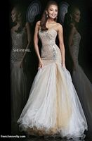 Sherri Hill 11105 Mermaid Beaded Dress image