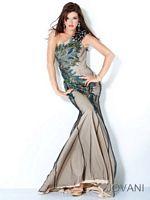 Jovani One Strap Evening Dress 111054 image