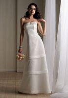 Destinations by Mon Cheri Feminine Destination Wedding Dress 111181 image