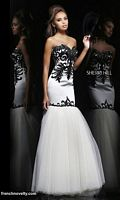 Sherri Hill 11122 Strapless Mermaid Dress image