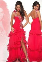 Size 6 Red MacDuggal Pageant Dress 1122P image