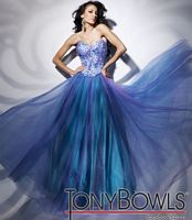 Tony Bowls Le Gala Corset Ball Gown Prom Dress 112500 image