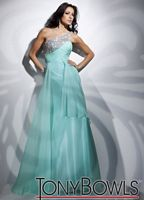 Tony Bowls Le Gala One Shoulder Chiffon Prom Dress 112501 image