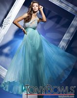 Tony Bowls Le Gala One Shoulder Prom Dress with Keyhole 112503 image