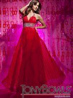 Tony Bowls Le Gala Halter Chiffon A-Line Prom Dress 112505 image