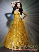 Prom Dresses 2012 Tony Bowls Le Gala Organza Gown 112506 image