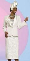 Donna Vinci 11284 Womens 3pc Church Suit image