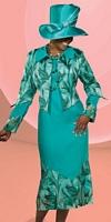 Donna Vinci 11297 Womens Organza Jacket Dress image