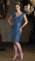 Ivonne D Short Evening Dress 112D45 by Mon Cheri image