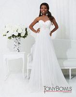 Tony Bowls 114507 Le Gala Pleated Evening Dress image