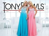 Tony Bowls Le Gala 114516 Cap Sleeve Formal Dress image