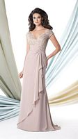 Montage 114917 Lace Mothers Dress for Weddings image