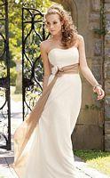 Jordan Couture Two Tone Long Chiffon Bridesmaid Dress 1211 image
