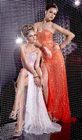 Studio 17 Silk Chiffon Sequin Prom Dress 12221 image