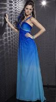Studio 17 Ombre Chiffon Evening Dress 12260 by House of Wu image