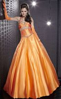 Studio 17 Taffeta Ball Gown with Beading 12268 by House of Wu image
