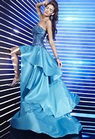 Studio 17 High Low Tier Prom Dress 12271 image