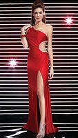 Studio 17 One Shoulder Jersey Prom Dress 12276 image