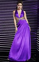 Studio 17 V Neck Prom Dress with Cutouts 12278 image