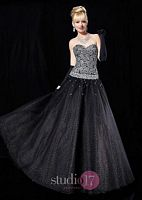 Studio 17 Glitter Tulle and Lame Ball Gown 12325 image