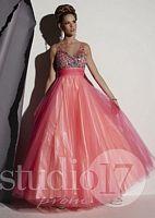 Studio 17 Sleeveless V Neck Formal Dress 12445 image