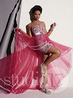 Studio 17 High Low Dress with Removable Skirt 12456 image