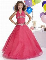 Tiffany Princess Girls Organza Pageant Dress 13305 image