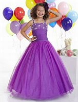 Tiffany Princess Girls Organza Corset Pageant Dress 13306 image