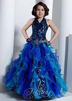 Tiffany Princess Girls Ruffle Organza Pageant Dress 13313 image