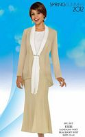 Misty Lane by BenMarc Embellished 3pc Church Suit 13525 image