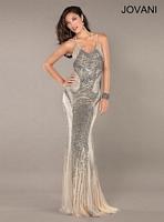 Jovani 1371 Beaded Mermaid Formal Dress image