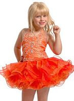 Party Time Perfect Angels Toddler Girls Pageant Dress 1401 image