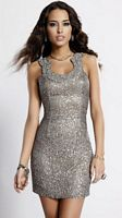 Scala 14311 Lead Sequin Homecoming Cocktail Dress image