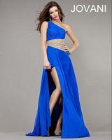 Jovani One Shoulder Evening Gown 1432 image
