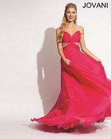 Jovani 1446 Rhinestone Formal Dress image