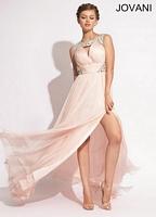 Jovani 1457 Iridescent Formal Dress image