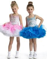 Perfect Angels 1463 Little Girls Organza Pageant Dress image
