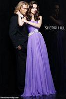 Sherri Hill Long Strapless Beaded Prom Dress 1463 image