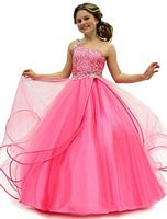 Perfect Angels 1465 Girls Soft Tulle Ball Gown image