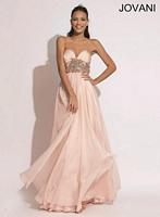 Jovani 1482 Formal Dress with Beadwork image