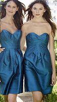 Watters Silk Dupioni Short Bridesmaid Dress 1485 image
