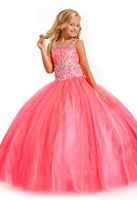 Party Time Perfect Angels 1505 Sparkling Tulle Girls Ball Gown image