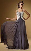 Rina di Montella 1505 Beaded Formal Evening Dress image