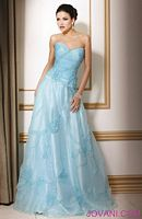 Jovani Strapless A-Line Evening Gown 151046 image