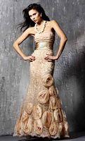 Jovani Rosette Evening Dress 152693 image