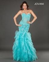 Jovani 1531 Lace Mermaid Dress image
