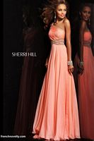 Sherri Hill 1537 One Shoulder Formal Dress image